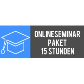 Onlineseminar-Paket 15 Stunden