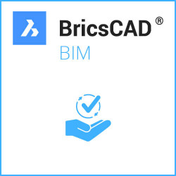 Einzelplatz BricsCAD® BIM V20 Miete inkl. Wartung