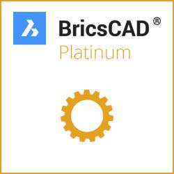 Einzelplatz BricsCAD® Platinum V20