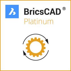 Upgrade BricsCAD V18 Platinum / V19 Platinum ALL-IN
