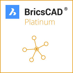 Netzwerk BricsCAD V19 Platinum ALL-IN