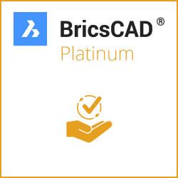 Einzelplatz BricsCAD® Platinum V20 Miete 1 Jahr inkl. Wartung
