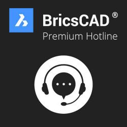 Premium Hotline BricsCAD® Classic/Lite/Pro/Platinum
