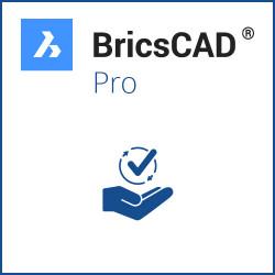 BricsCAD® Pro V21 Miete Einzelplatz 3 Jahre inkl. Wartung