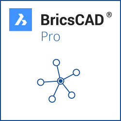 BricsCAD® Pro V21 Miete Netzwerk 3 Jahre inkl. Wartung