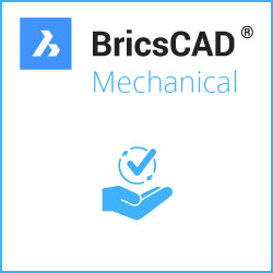 BricsCAD® Mechanical V21 Miete Einzelplatz 3 Jahre inkl. Wartung