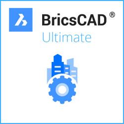 BricsCAD® Ultimate V21 Miete Netzwerk 3 Jahre inkl. Wartung