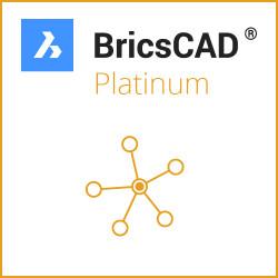 Netzwerk BricsCAD® Platinum V20 Miete 3 Jahre inkl. Wartung