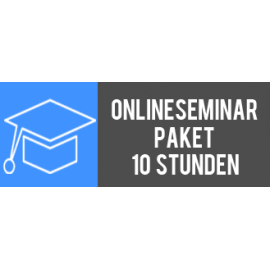 Onlineseminar-Paket 10 Stunden