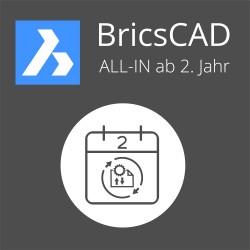 ALL-IN BricsCAD Communicator Einzelplatz 2. Jahr