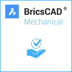 BricsCAD® Mechanical V21 Einzelplatz inkl. Wartung