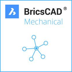 BricsCAD® Mechanical V21 Miete Netzwerk 1 Jahr inkl. Wartung