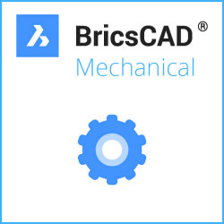 Einzelplatz BricsCAD® Mechanical V20 Miete 1 Jahr inkl. Wartung