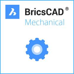 Einzelplatz BricsCAD® Mechanical V20 Miete inkl. Wartung